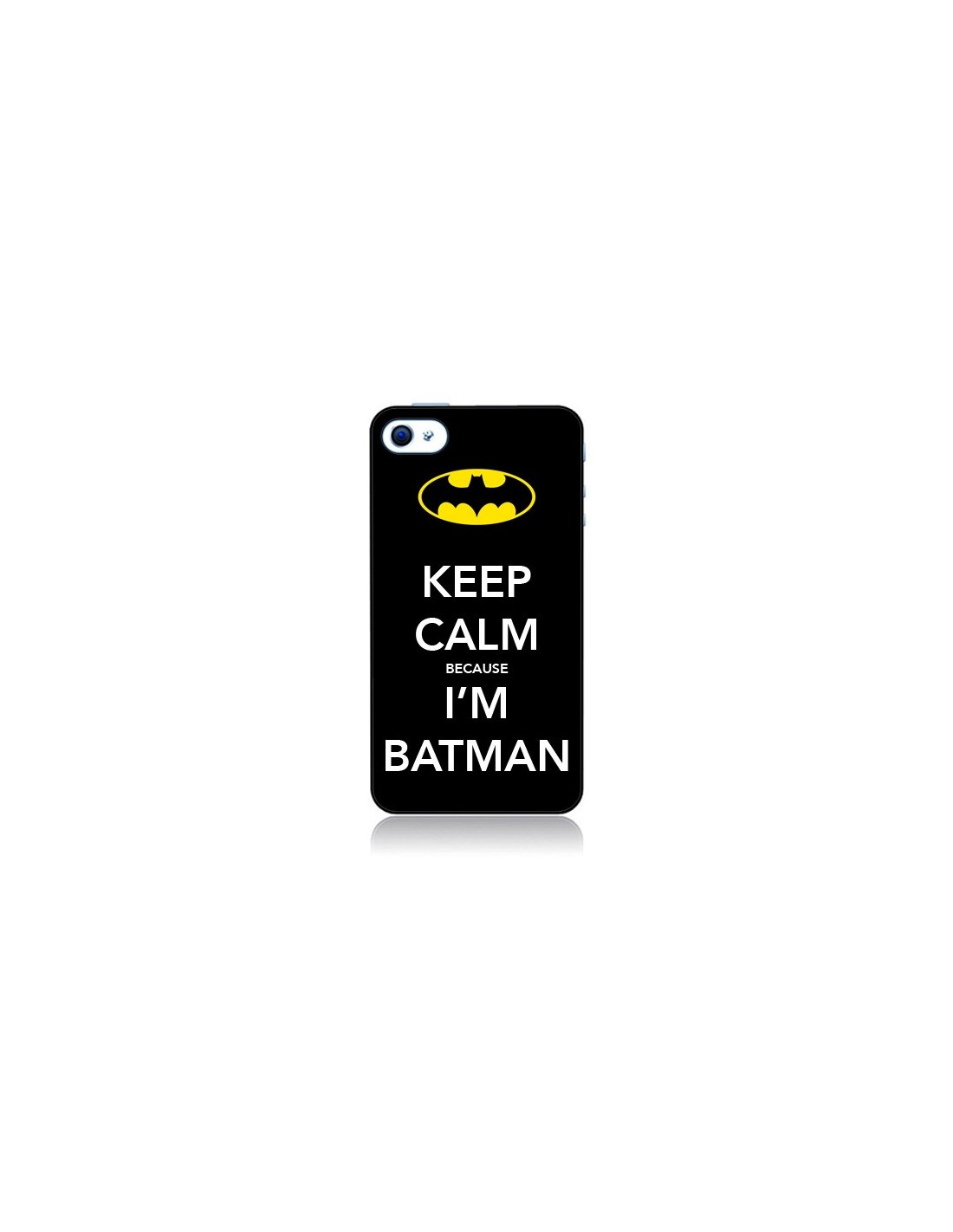 coque iphone 4 et 4s keep calm because i m batman nico