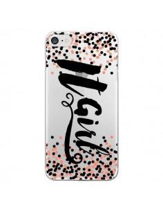 Coque It Girl Transparente pour iPhone 7 - Ebi Emporium