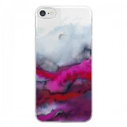 Coque iPhone 7/8 et SE 2020 Winter Waves Vagues Hiver Transparente - Ebi Emporium