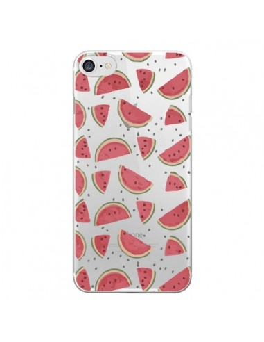 Coque Pasteques Watermelon Fruit Transparente pour iPhone 7 et 8 - Dricia Do