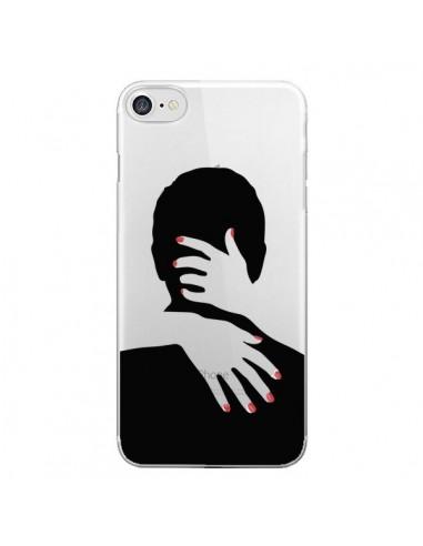 coque iphone 7 8 se 2020 calin hug mignon amour love cute transparente dricia do