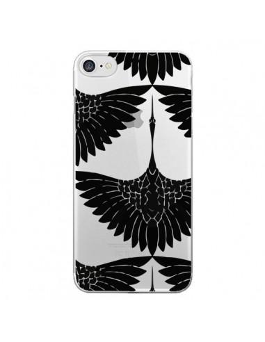 Coque iPhone 7 et 8 Paon Faisan Transparente - Dricia Do