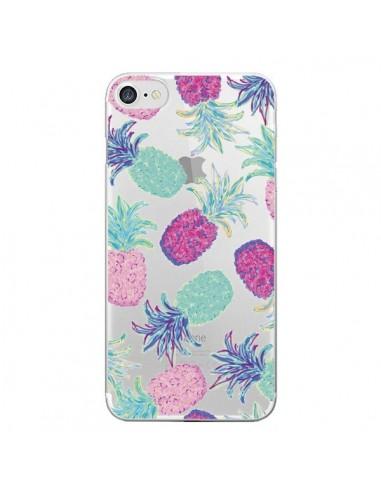 Coque Ananas Pineapple Fruit Ete Summer Transparente pour iPhone 7 et 8 - Lisa Argyropoulos
