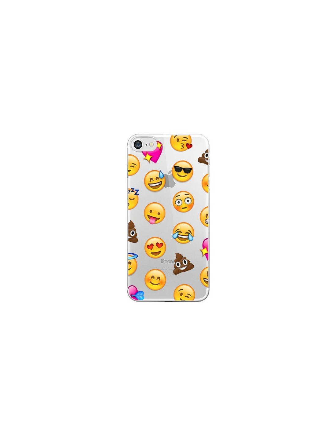 iphone 7 coque emoji