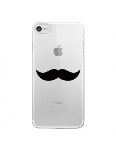 Coque Moustache Movember Transparente pour iPhone 7 et 8 - Laetitia