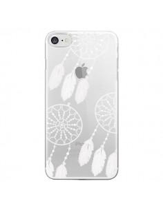 Coque Attrape Rêves Blanc Dreamcatcher Triple Transparente pour iPhone 7 - Petit Griffin