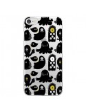 Coque iPhone 7 et 8 Monsters Monstres Pattern Transparente - Maria Jose Da Luz