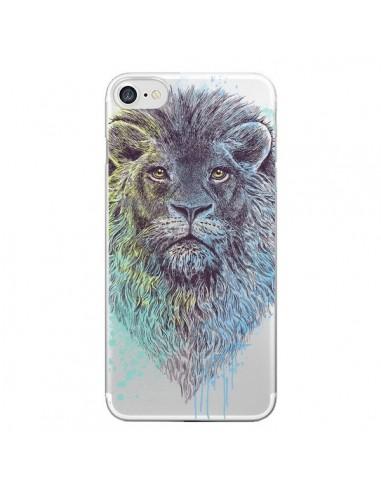 Coque Roi Lion King Transparente pour iPhone 7 et 8 - Rachel Caldwell