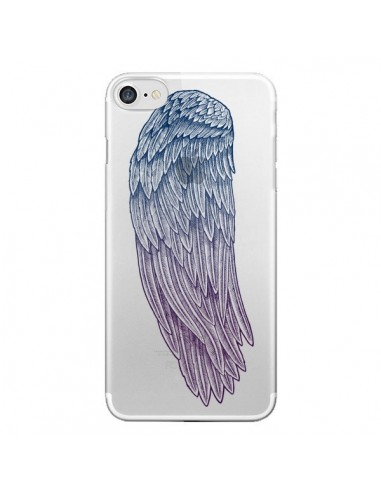 Coque Ailes d'Ange Angel Wings Transparente pour iPhone 7 et 8 - Rachel Caldwell