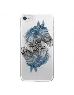 Coque Cheval Horse Double Transparente pour iPhone 7 et 8 - Rachel Caldwell