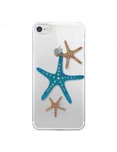 Coque iPhone 7/8 et SE 2020 Etoile de Mer Starfish Transparente - Sylvia Cook