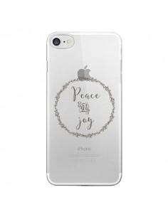 Coque Peace and Joy, Paix et Joie Transparente pour iPhone 7 et 8 - Sylvia Cook
