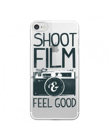 Coque Shoot Film and Feel Good Transparente pour iPhone 7 et 8 - Victor Vercesi