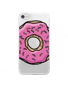 Coque Donuts Rose Transparente pour iPhone 7 et 8 - Yohan B.