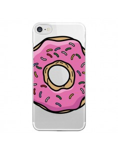 Coque Donuts Rose Transparente pour iPhone 7 - Yohan B.