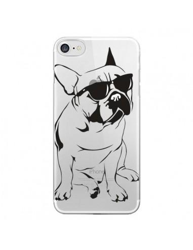 Coque iPhone 7 et 8 Chien Bulldog Dog Transparente - Yohan B.