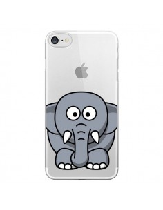 Coque Elephant Animal Transparente pour iPhone 7 - Yohan B.