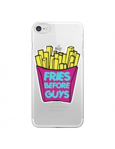 Coque Fries Before Guys Transparente pour iPhone 7 - Yohan B.