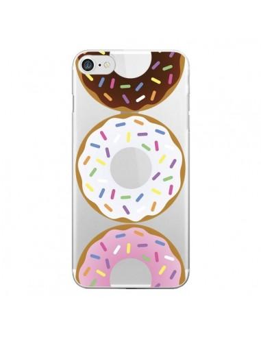 Coque iPhone 7 et 8 Bagels Bonbons Transparente - Yohan B.