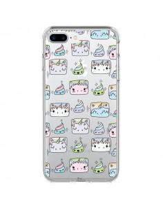 Coque Licorne Unicorn Cute Swag Transparente pour iPhone 7 Plus - Claudia Ramos