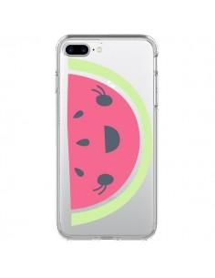 Coque Pasteque Watermelon Fruit Transparente pour iPhone 7 Plus - Claudia Ramos