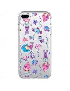 Coque Mermaid Petite Sirene Ocean Transparente pour iPhone 7 Plus et 8 Plus - Claudia Ramos
