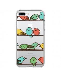 Coque Oiseaux Birds Transparente pour iPhone 7 Plus - Eric Fan