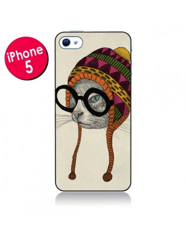 Coque Chat Bonnet pour iPhone 5 - Börg