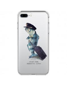 Coque Pilot Fish Poisson Pilote Transparente pour iPhone 7 Plus - Eric Fan