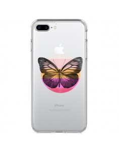 Coque Papillon Butterfly Transparente pour iPhone 7 Plus et 8 Plus - Eric Fan