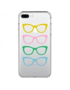 Coque Sunglasses Lunettes Soleil Couleur Transparente pour iPhone 7 Plus et 8 Plus - Project M