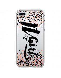 Coque It Girl Transparente pour iPhone 7 Plus - Ebi Emporium