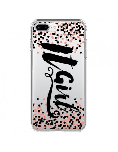 Coque It Girl Transparente pour iPhone 7 Plus et 8 Plus - Ebi Emporium