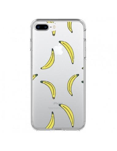 Coque Bananes Bananas Fruit Transparente pour iPhone 7 Plus et 8 Plus - Dricia Do