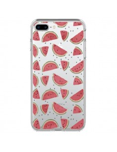 Coque Pasteques Watermelon Fruit Transparente pour iPhone 7 Plus et 8 Plus - Dricia Do