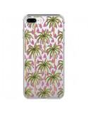 Coque iPhone 7 Plus et 8 Plus Palmier Palmtree Transparente - Dricia Do