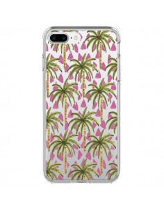 Coque Palmier Palmtree Transparente pour iPhone 7 Plus et 8 Plus - Dricia Do