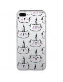 Coque Licorne Unicorn Dessin Transparente pour iPhone 7 Plus et 8 Plus - Dricia Do