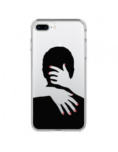 Coque Calin Hug Mignon Amour Love Cute Transparente pour iPhone 7 Plus et 8 Plus - Dricia Do