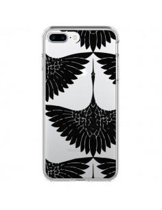 Coque Paon Faisan Transparente pour iPhone 7 Plus et 8 Plus - Dricia Do