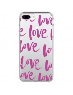 Coque Love Love Love Amour Transparente pour iPhone 7 Plus - Dricia Do