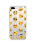 Coque iPhone 7 Plus et 8 Plus Smiley Emoticone Emoji Transparente - Laetitia