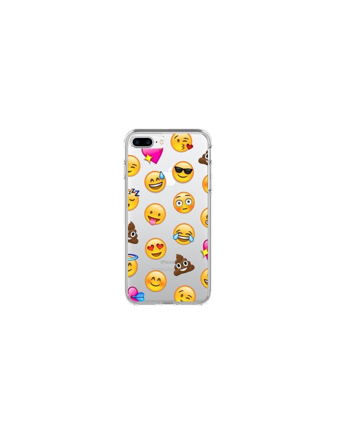 coque iphone 7 silicone emoji