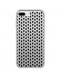 Coque Triangles Romi Azteque Noir Transparente pour iPhone 7 Plus et 8 Plus - Laetitia