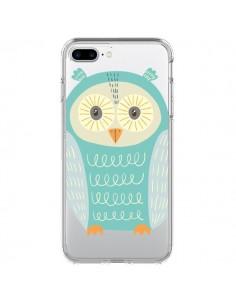 Coque Hibou Owl Transparente pour iPhone 7 Plus - Petit Griffin