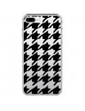 Coque Vichy Gros Carre noir Transparente pour iPhone 7 Plus et 8 Plus - Petit Griffin