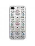 Coque Chouettes Owl Hibou Transparente pour iPhone 7 Plus - Maria Jose Da Luz