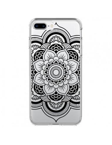 coque iphone 7 mandala noir