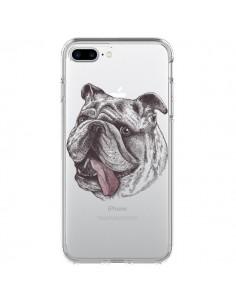 Coque Chien Bulldog Dog Transparente pour iPhone 7 Plus et 8 Plus - Rachel Caldwell