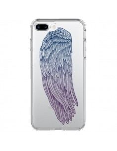 Coque Ailes d'Ange Angel Wings Transparente pour iPhone 7 Plus et 8 Plus - Rachel Caldwell
